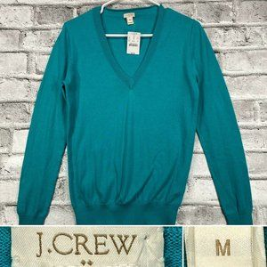 J. Crew Factory Sz Medium V Neck Pullover Sweater